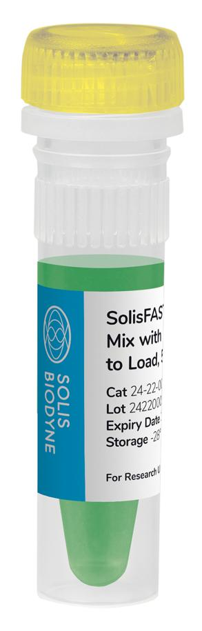 SolisFAST<sup>®</sup> Master Mix with UNG, Ready to Load
