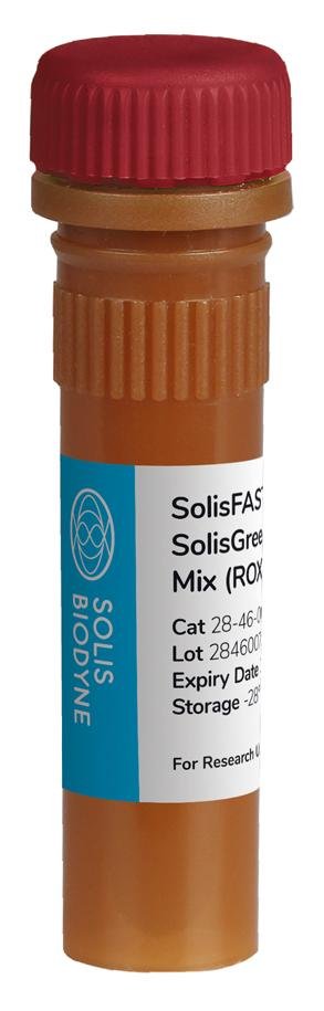 SolisFAST<sup>®</sup> SolisGreen<sup>®</sup> qPCR Mix